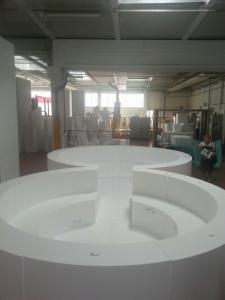Centro benessere   realizzato con sagomati in EPS ad alta densità   Expol